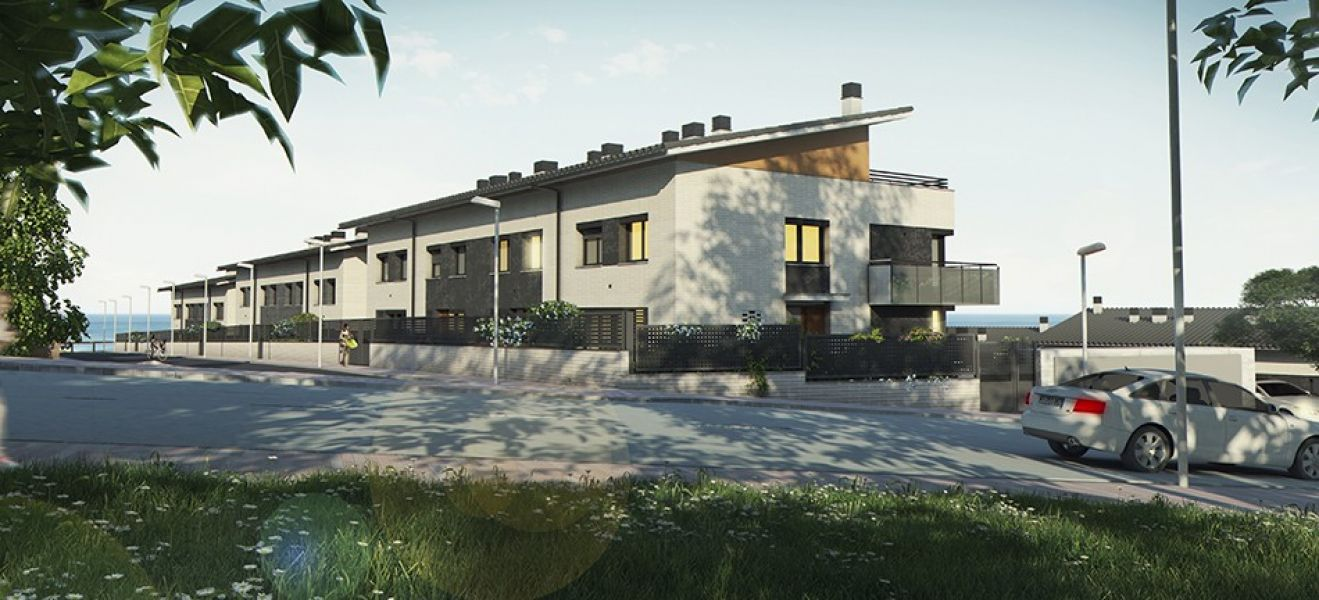 Houses (detached house), 260 m², near bus and train, new