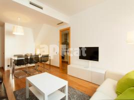 Flat in monthly rentals, 90 m², near bus and train, Aragó - Comte Borrell